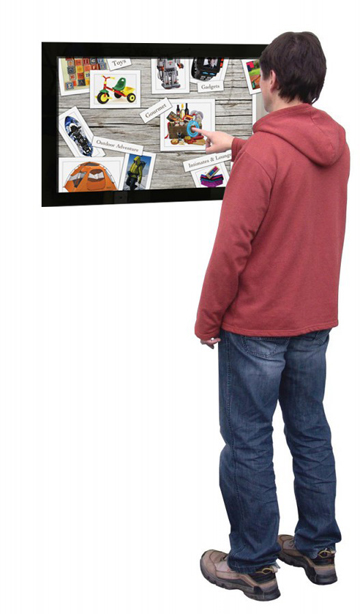 Wall-mounted-Multi-Touch-Screen-Display-in-Use-527x1024